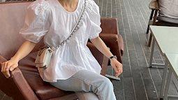 """Có 1 mẫu áo mà dàn gái Hàn đang """"nâng như nâng trứng"""", diện lên đảm bảo có ảnh đẹp post Instagram sống ảo!"""