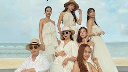 """Mẹ bầu Phanh Lee lên đồ """"sống ảo"""" cùng hội chị em, hé lộ vai trò đặc biệt của dàn mỹ nhân Vbiz với ái nữ hào môn sắp chào đời"""