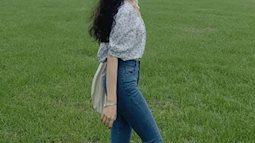 """Kiểu quần jeans hack dáng cực đỉnh, vừa dài chân mà lại tôn vòng 3 """"đỉnh của chóp"""""""