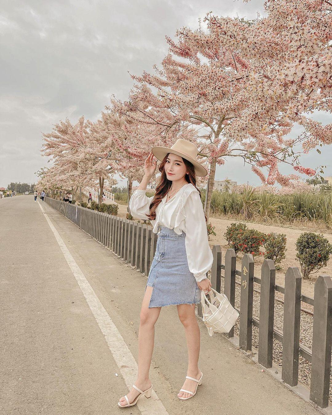 Gái Hàn có 12 cách lên đồ với áo blouse đẹp mê, xem xong là muốn copy đến sở làm liền - Ảnh 8.