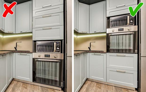 7 sai lầm trong sắp xếp nội thất biến căn bếp của bạn thành cơn ác mộng - Ảnh 1.