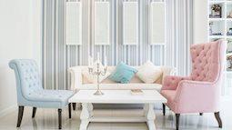 10 kiểu thiết kế nội thất kém sang cần tránh xa ngay