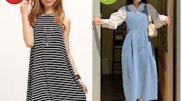 4 kiểu váy hai dây chị em chớ dại mà mua: Kiểu lỗi mốt từ tám đời, kiểu diện lên trông như đồ ngủ