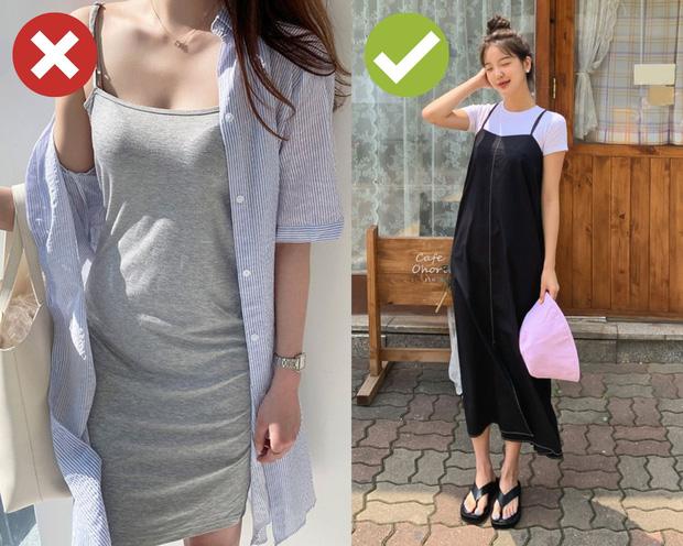 4 kiểu váy hai dây chị em chớ dại mà mua: Kiểu lỗi mốt từ tám đời, kiểu diện lên trông như đồ ngủ - Ảnh 2.