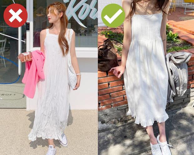 4 kiểu váy hai dây chị em chớ dại mà mua: Kiểu lỗi mốt từ tám đời, kiểu diện lên trông như đồ ngủ - Ảnh 3.