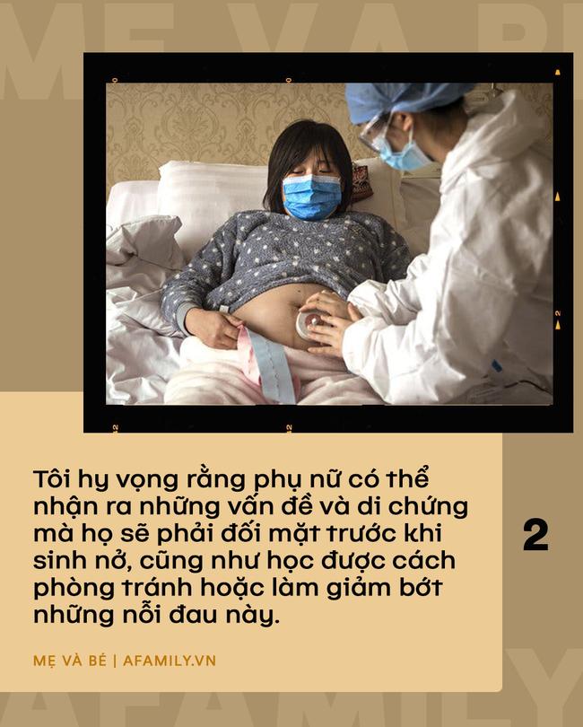 Bức ảnh chiếc bụng rạn đen sau khi sinh 10 ngày và câu chuyện sinh nở của hơn 1000 người mẹ khác khiến ai cũng phải trầm ngâm suy nghĩ - Ảnh 5.