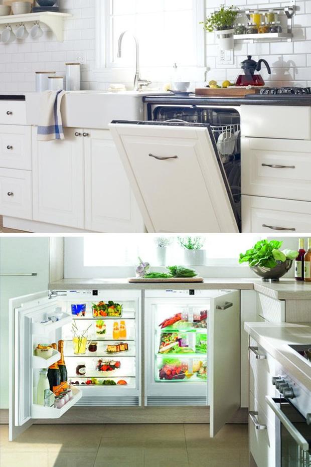 7 cách đơn giản giúp giải phóng không gian nhà bếp, dù nhỏ đến đâu cũng sẽ rộng rãi không ngờ - Ảnh 1.