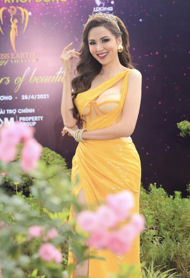 Sự kiện quy tụ đủ 7 mỹ nhân từng chiến Miss Earth: Phương Khánh, Diễm Hương khoe ngực đầy, Nam Em say nắng trên thảm đỏ - Ảnh 7.