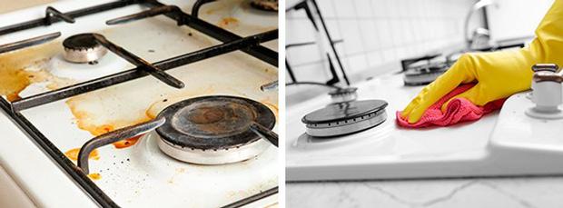Đánh bay mọi vết bẩn cứng đầu trong nhà bếp với 10 bí quyết thần sầu này - Ảnh 8.