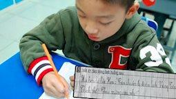 """Bài tập tiếng Việt yêu cầu viết 1 câu, cậu nhóc chỉ trả lời 1 từ duy nhất khiến dân tình ôm bụng cười, cô giáo """"bó tay"""" vì không thể bắt lỗi"""