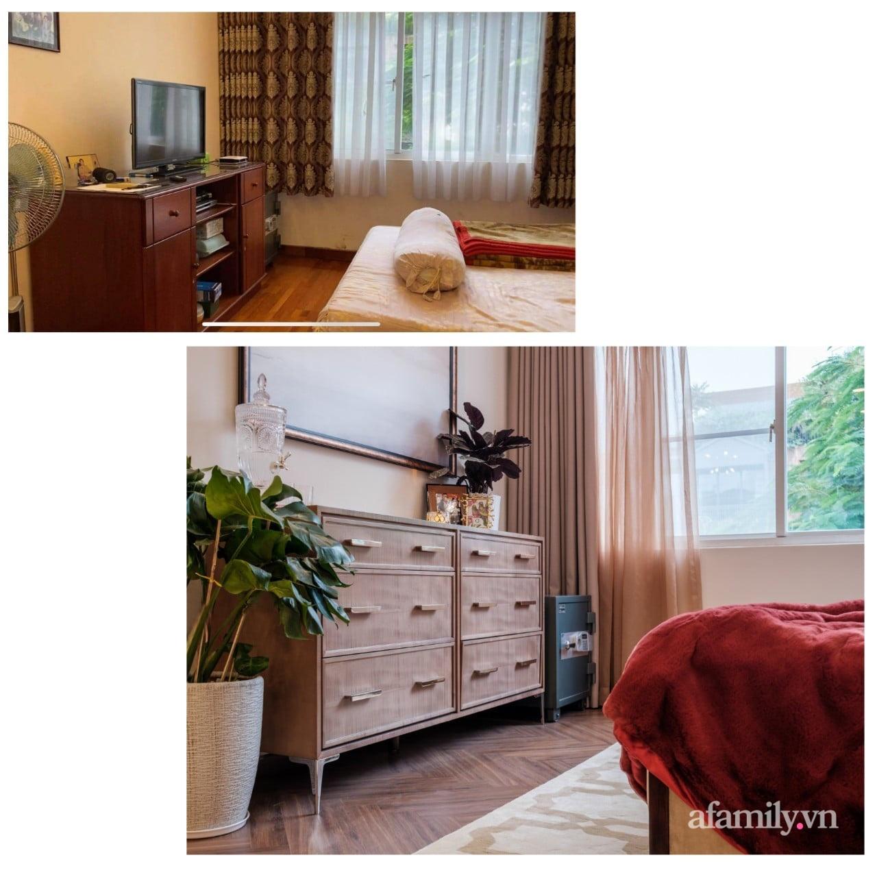Lột xác phòng ngủ cũ kỹ thành không gian đẳng cấp 5 sao dành cho cặp vợ chồng U70 chỉ trong 2 tuần ở Sài Gòn - Ảnh 3.