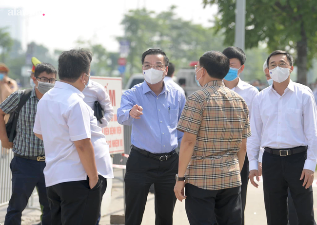 Chủ tịch UBND TP Hà Nội chỉ đạo công tác phòng chống dịch