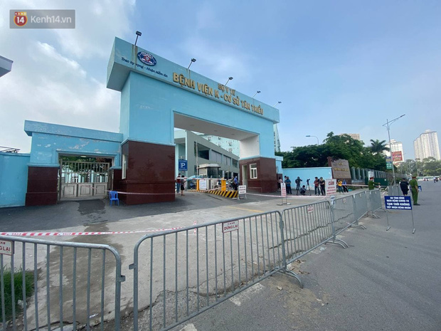 Nóng: Ghi nhận 10 ca dương tính SARS-CoV-2, bệnh viện K phong toả cả 3 cơ sở - Ảnh 2.