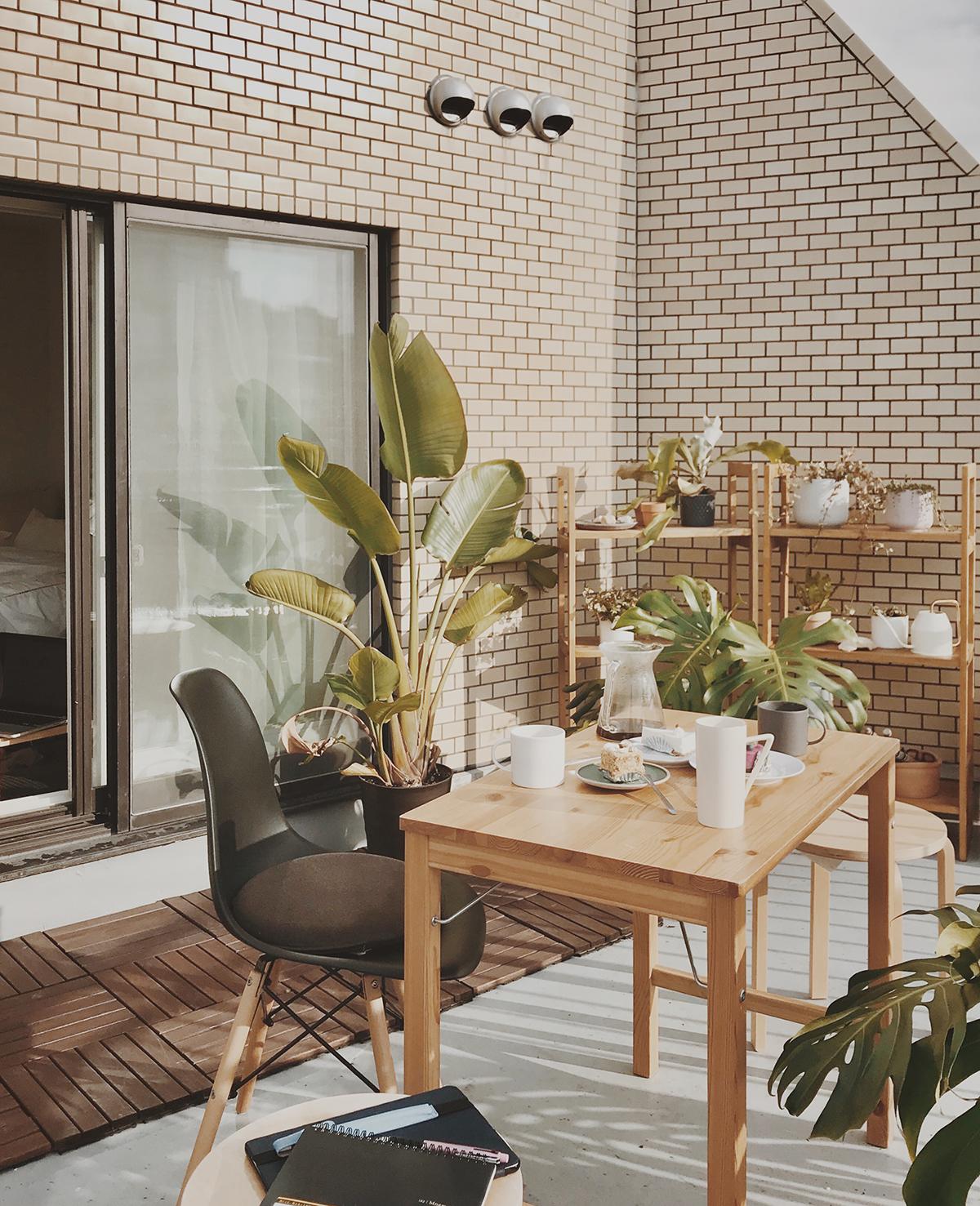 Căn hộ 33m2 có hiên nhà ngập nắng của nữ kiến trúc sư ở thủ đô - Ảnh 6.