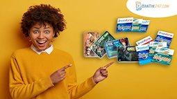 Mua thẻ điện thoại, mua thẻ game uy tín tại banthe247.com
