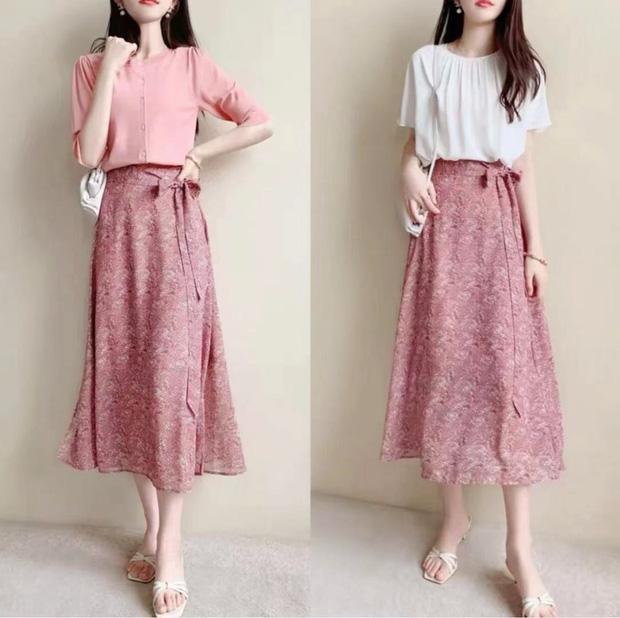 14 set váy áo xinh xắn nhẹ nhàng, để bạn có được style chuẩn nữ chính phim Hàn - Ảnh 2.