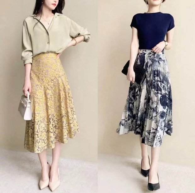14 set váy áo xinh xắn nhẹ nhàng, để bạn có được style chuẩn nữ chính phim Hàn - Ảnh 3.