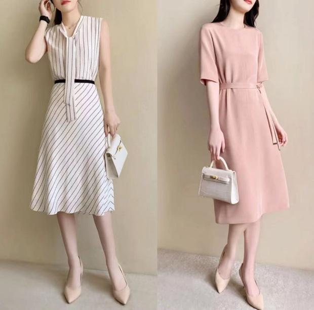 14 set váy áo xinh xắn nhẹ nhàng, để bạn có được style chuẩn nữ chính phim Hàn - Ảnh 7.