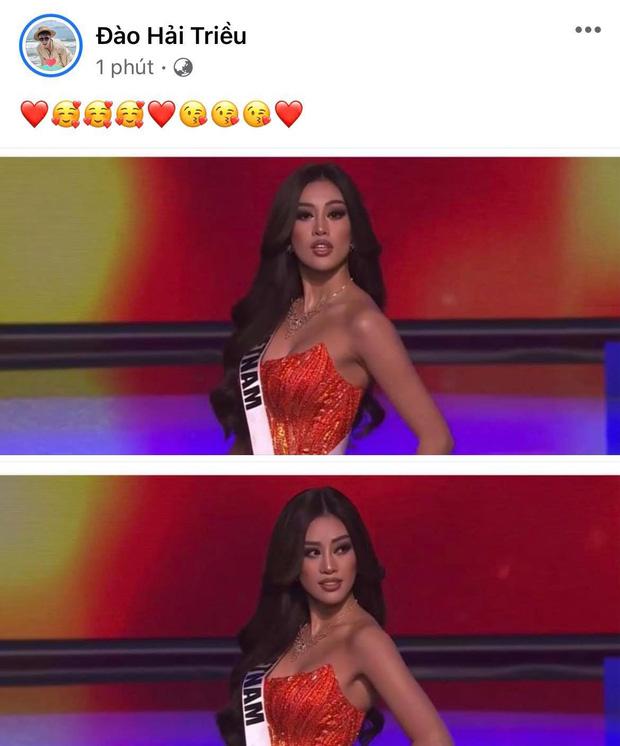 Khánh Vân có chia sẻ đầu tiên sau Bán kết Miss Universe 2020, nói 1 câu mà dàn sao Vbiz đồng loạt trầm trồ và động viên - Ảnh 10.