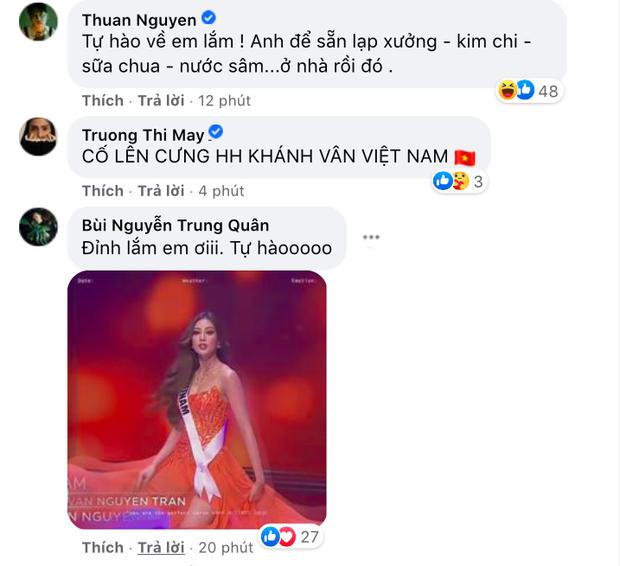 Khánh Vân có chia sẻ đầu tiên sau Bán kết Miss Universe 2020, nói 1 câu mà dàn sao Vbiz đồng loạt trầm trồ và động viên - Ảnh 3.