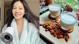 Thức uống đẹp da giữ dáng của người đẹp Hoa ngữ: Phạm Băng Băng uống nước chanh, Tiểu S nhờ cậy đến sữa hạnh nhân