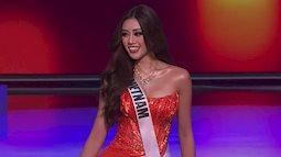 Khánh Vân đứng đầu bảng xếp hạng phần thi trang phục dạ hội Bán kết Miss Universe 2020?