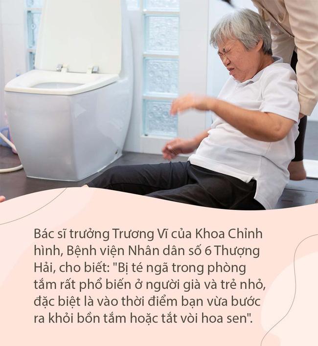 5 mối nguy hiểm trong phòng tắm - Ảnh 3.
