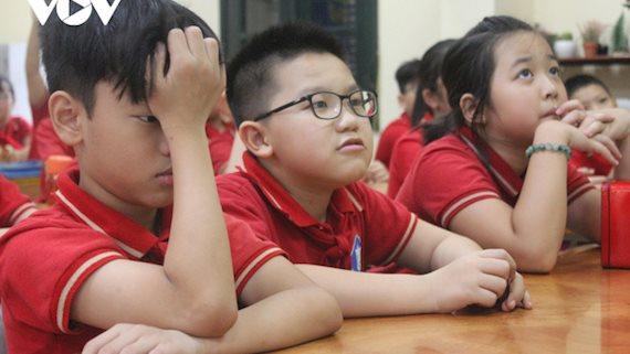 Nhiều trường tại Hà Nội hoãn thi đánh giá năng lực vào lớp 6