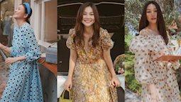 """Ngắm bộ sưu tập váy """"đồ sộ"""" của Thanh Hằng, nàng 30+ nhắm được nhiều kiểu trẻ trung và ghi trọn điểm sang chảnh"""