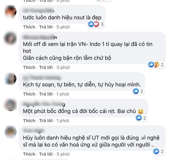 Netizen phản ứng gay gắt sau tin NS Đức Hải bị cho thôi chức Phó Hiệu trưởng, yêu cầu tước luôn danh hiệu NSƯT - Ảnh 3.
