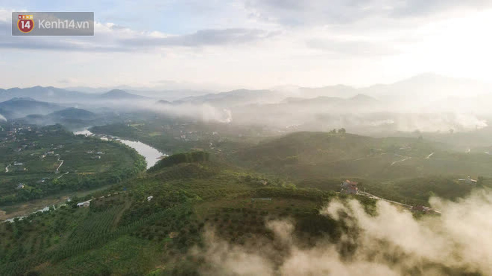 Ảnh: Nông dân Bắc Giang nối đuôi nhau chở vải thiều ra chợ, đường quê đỏ rực một màu - Ảnh 1.