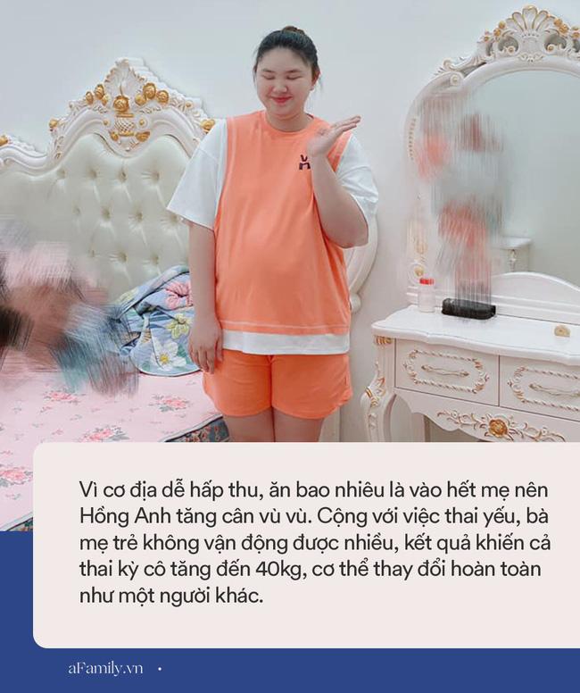 Mẹ trẻ Hà thành mang thai tăng vọt 40kg, chồng đi công tác về không nhận ra vợ, đẻ xong như chưa đẻ - Ảnh 4.