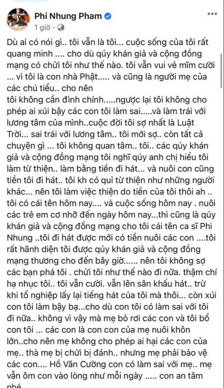 Phi Nhung cùng Hồ Văn Cường ngồi lại làm rõ ồn ào: Sốc khi bị con đâm sau lưng, phải đóng vai ác thì con mới chịu nghe lời - Ảnh 5.