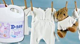 Nước giặt Dnee an toàn cho trẻ, tiết kiệm cho mẹ