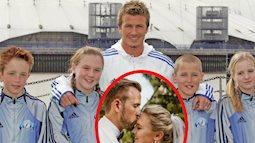 12 tuổi cùng xuất hiện trong một tấm ảnh chụp với David Beckham, 13 năm sau, cặp đôi dắt tay nhau vào lễ đường, danh tính của chú rể càng gây chấn động!