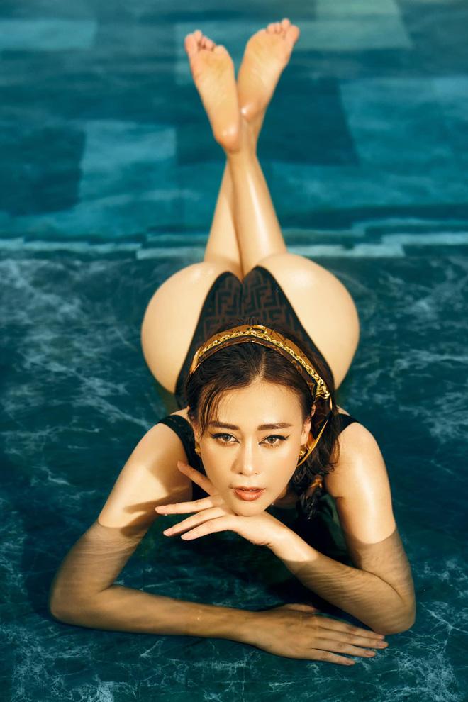 Phương Oanh đăng ảnh bikini táo bạo, khoe cân nặng hiện tại khiến nhiều người bất ngờ - Ảnh 5.