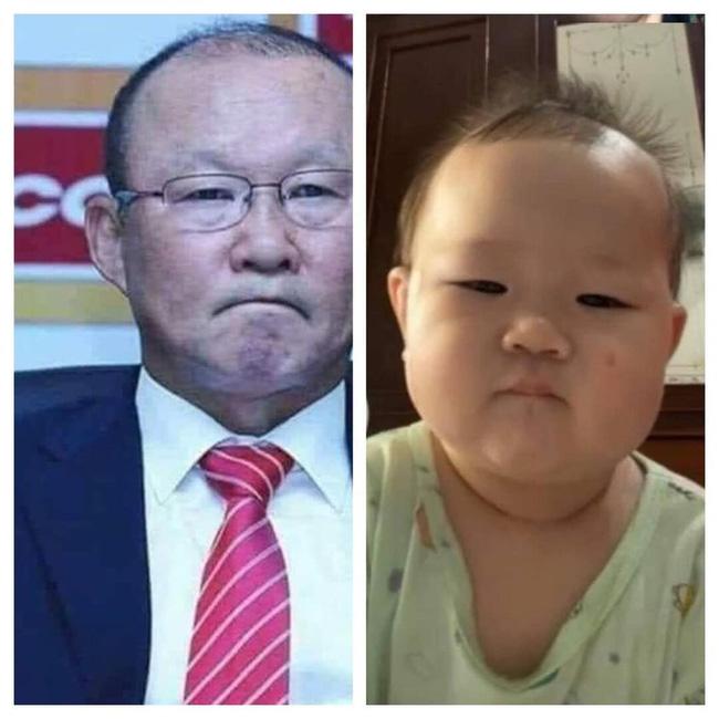 Thêm một phiên bản nhí của thầy Park Hang Seo gây sốt MXH, dân tình thả tim tới tấp: Khi bầu mẹ mê bóng đá quá đây mà? - Ảnh 4.