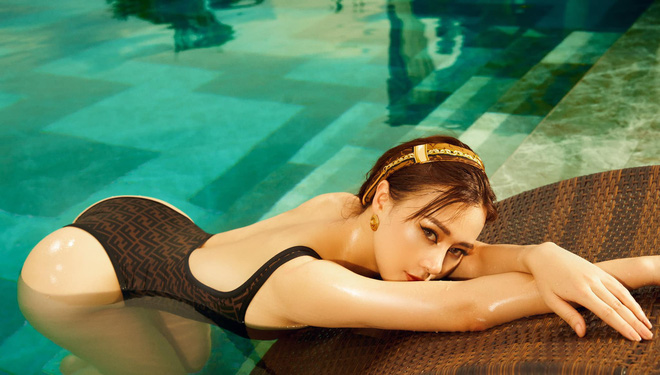 Phương Oanh đăng ảnh bikini táo bạo, khoe cân nặng hiện tại khiến nhiều người bất ngờ - Ảnh 6.