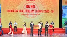 HDBank trao 20 tỷ đồng hỗ trợ Tp. Hà Nội phòng chống dịch covid-19