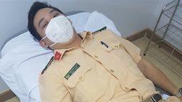 5 chiến sĩ công an hiến máu cứu sống sản phụ ngay trong đêm