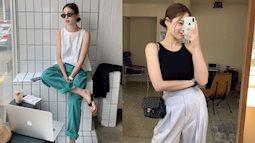 Nàng blogger Hàn gợi ý 11 cách mặc áo hai dây đơn giản, nhưng lên hình sống ảo rất mãn nhãn