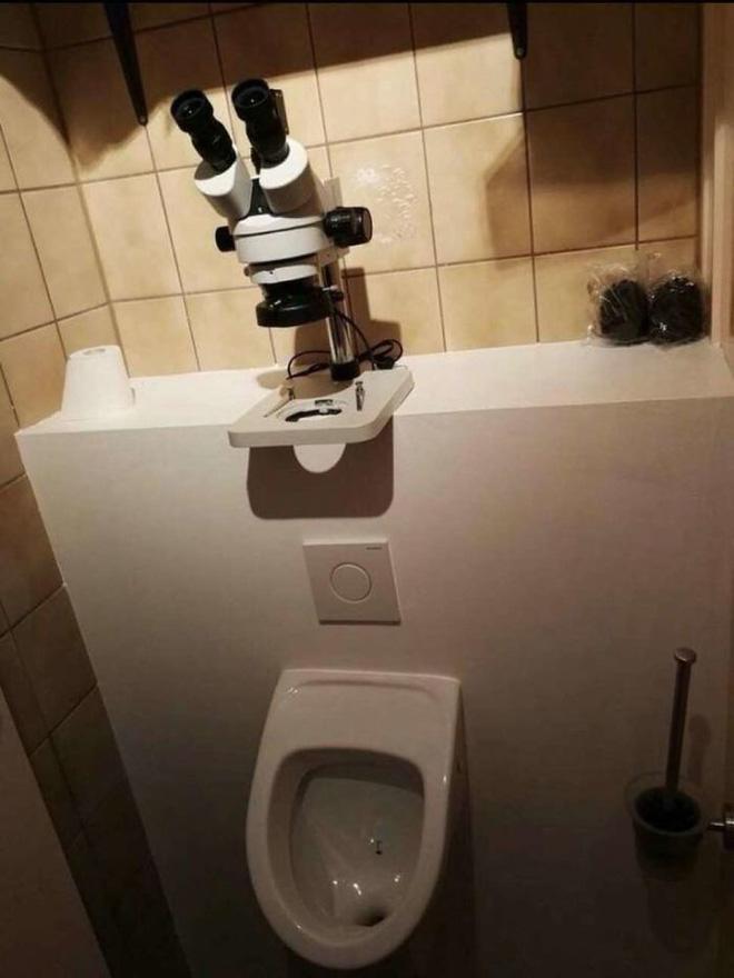Vã mồ hôi với những nhà vệ sinh dị nhất thế giới: Số 5 dành cho những người không thích cô đơn - Ảnh 5.