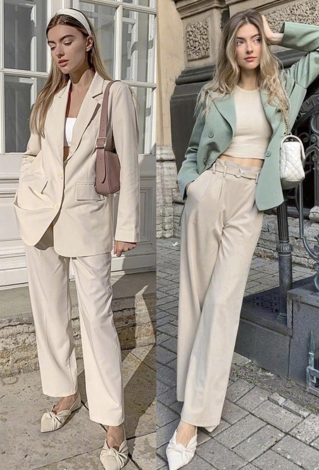 Không cần mua nhiều đồ vẫn cứ mặc đẹp: Gái Pháp chỉ cần tập trung vào 4 kiểu quần này là đủ - Ảnh 4.