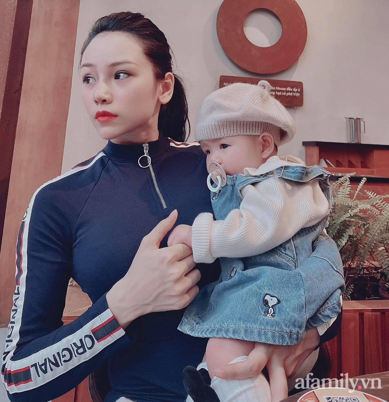 Mẹ 9x khoe cơ bụng đẹp nức nở dù mới sinh con 3 tháng, chỉ ra sai lầm của nhiều chị em khiến việc giảm cân sau sinh thất bại - Ảnh 4.