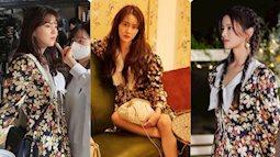 """Kỷ lục đụng hàng: Một mẫu váy hoa có tới 6 nàng đẹp diện, Yoona bất ngờ """"thua"""" một mỹ nhân Hoa ngữ"""