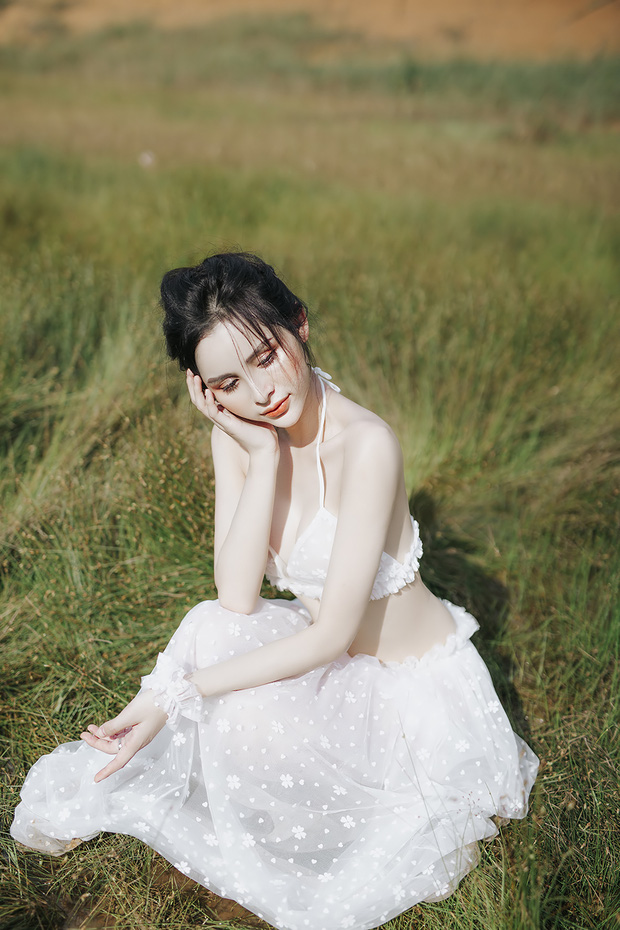 Người đẹp chuyển giới Tường Vi khoe vòng 1 căng tràn, làn da trắng nõn và vóc dáng nuột nà - Ảnh 3.