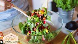 Ở nhà giãn cách mà muốn giảm cân đẹp da, cứ món salad này ăn bữa tối hàng ngày các chị ơi!