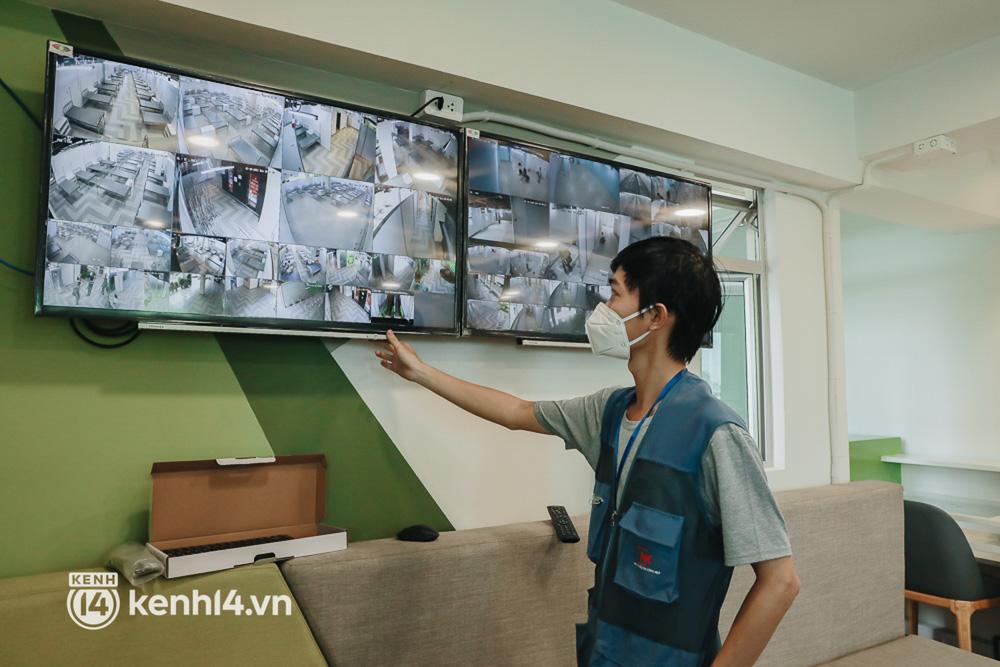 Cận cảnh bệnh viện dã chiến số 5 tại Thuận Kiều Plaza trước ngày hoạt động - Ảnh 10.