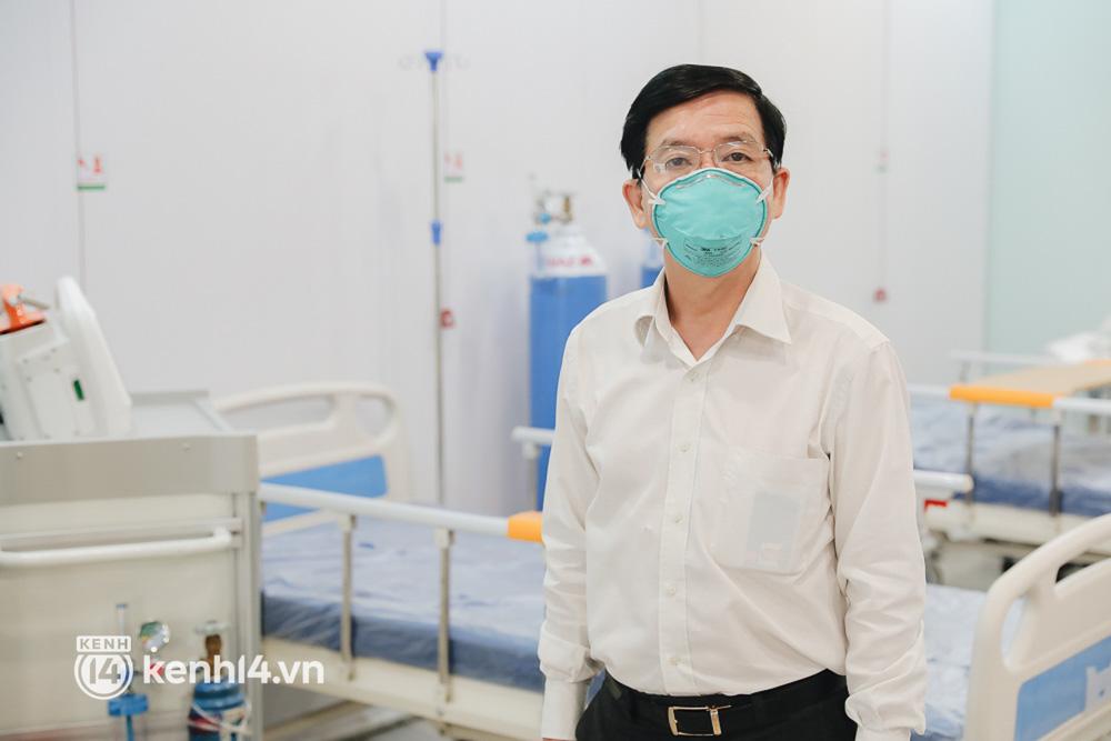 Cận cảnh bệnh viện dã chiến số 5 tại Thuận Kiều Plaza trước ngày hoạt động - Ảnh 8.