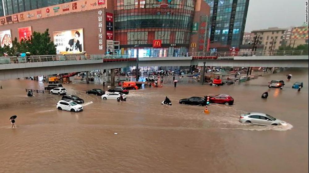 Tin xấu cho Trung Quốc: Lũ lụt chưa dứt, bão cực mạnh lại đến; Những trận mưa phá vỡ kỷ lục lịch sử 60 năm - Ảnh 4.